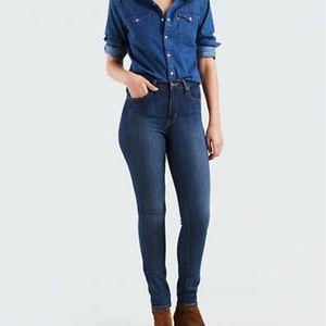 Levi's 721 High Rise Skinny Jeans W30 L34